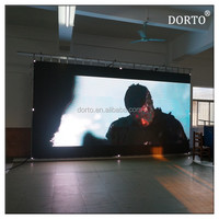 Portable outdoor stage background LED display P10 video wall
