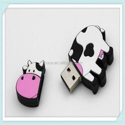 Custom 3d any logo promotional gift pvc rubber 1 tb usb flash drive