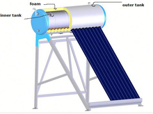 Best Quality Domestic Evacuated Tube Solar Water Heater System