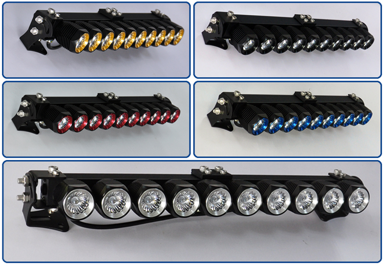 Look newest cree led offroad lightbar diy 50 car led light bar led light barg aloadofball Image collections