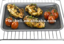 """Grilling Mesh - Non-stick Grill Mesh """"Rollable"""" Cooking Pan - Dishwasher safe & Reusable, for Baking and BBQ use"""