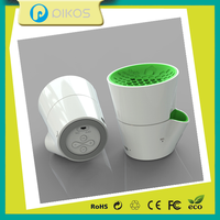Brush pot woofer speaker with bluetooth