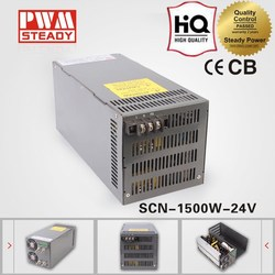(SCN-1500-24)1500w Industrial product transformer CE approved 220v 24 volt led transformer / 24v 63a switching power supply