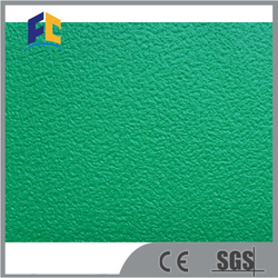 green indoor pvc sport flooring