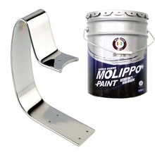 Fast and convenient 2k metallic paint