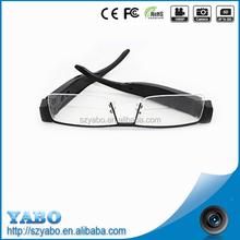 HD 720P video camera goggles skiing glasses
