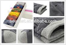 suave de algodón del bebé calcetín