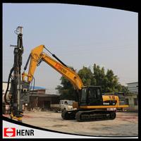 Open pit mine/quarry hydraulic blast hole drill