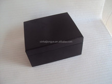 Wooden Handmade Square Tea Box With 4 Compartments