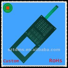 2012 newest flat membrane keypad