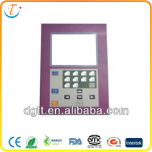 OEM professional tact LCD high quality auto flexible keyboard with LED