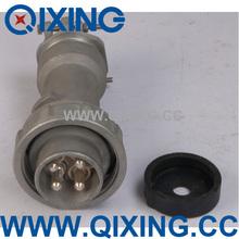 Industrial big current IP67 63 amp industrial plug and socket 250A 4P 5P
