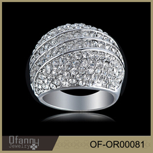 Factory supply 2015 fashion jewelry wedding ring 925 silver ring,diamond ring