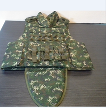 Military Digital camouflage Body armor crotch protection bullet proof vest ballistic jacket police and military vest