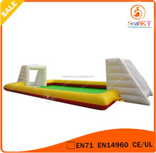 20x10m 0.55mm PVC Inflatable mini football pitch for Ourdoor play