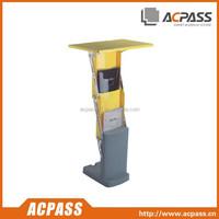 Manufacurer suppliers portable display brochure holder A4 Literture stand/brochure holder table
