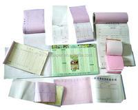 Superior quality 75*65mm;75*60mm;75*57mm; etc.Carbonless copy paper/NCR paper rolls
