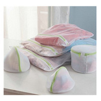 Mesh Laundry Wash Bags Combo set 4pcs for Delicates, Lingerie, Sweater, Bras, and Organization