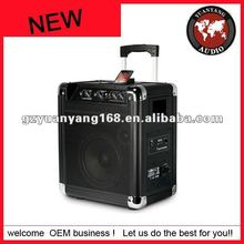 Active type PA System Trolley Speaker DJ Equipment with ipod dock
