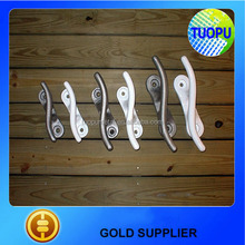 stainless steel 316 yacht S shape cleat,marine yacht cleat for sale, S shape yacht cleat