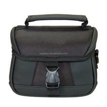 black easy clean fancier trendy dslr camera bags
