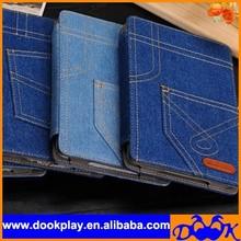 PU Cowboy Cover For iPad Mini Jeans Case for iPad Mini Leather Wholesale