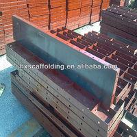 formwork shuttering beam for concrete construction