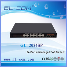 24 -Port unmanaged PoE Switch Networking 8.8 Gbps Switching Capacity 24 -Port supply power to PoE Powered Device