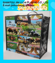 pp woven bag with Lamination printing
