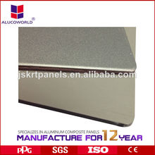 Lo más popular panel de compuesto aluminio de pared