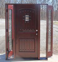 sidelites open wood door main door designs