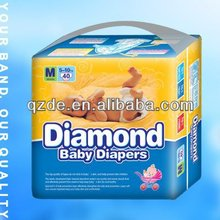 2015 China Super Soft Disposable Diamond Baby Diapers Manufacturer