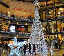 2015 decorated shopping mall christmas tree giant
