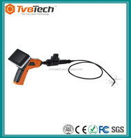 New 3.5 Inch TFT LCD Monitor Inspection Camera Borescope Endoscope Pipe 1M Camera Snake Scope +Tool Box 270 Degree View