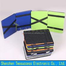 Leather Magic Wallet Money Clip Elastic Magic Wallet