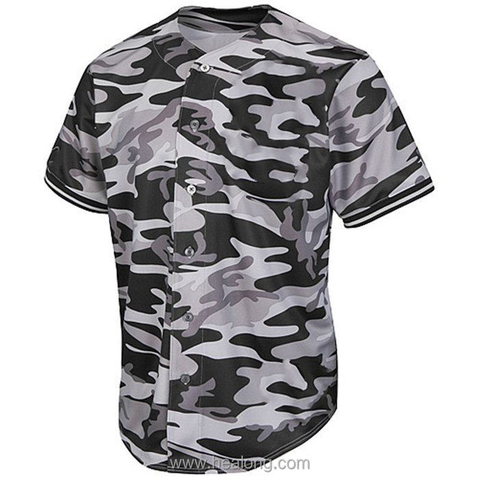 Healong Caliente Personalizado Digital Camo Sublimada Camiseta de ...