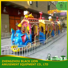 Children Amusement Machine Elephant Model Mini Train