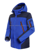 winter clothes outwear coat keep you warm/ custom outwear waterproof and windproof winter navy blue jackets
