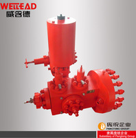 Oil equipment company oil drilling and producting system wellhead assembly api 6a block valve