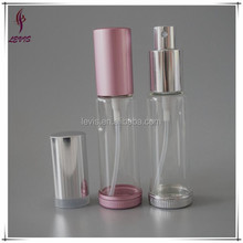30ml perfume empty glass bottle with aluminum sprayer