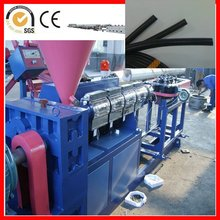 double wall HDPE corrugated pipe plastic extrusion