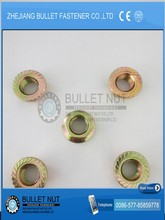 DIN 6923 M 5 STAINLESS STEEL &CARBON STEEL HEX FLANGE NUT YZP ZP BZP
