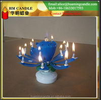 flaming fireworks birthday candle/ birthday music candle 008618032006528