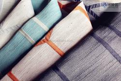 Fashion fabric fashion decoration laser cutting linen fabric curtain