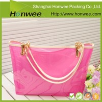 custom design hot sale eco plastic stylish bags handbags