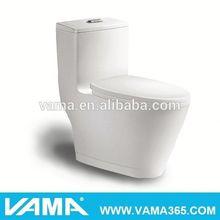 VAMA One Piece Modern Single Flushing Toilet Rough In