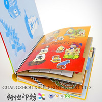 kids english learning story books