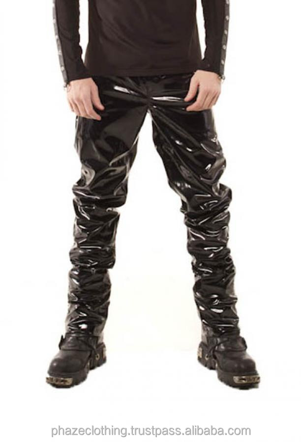mens tight fitting pvc gloss buy
