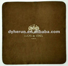High-grade jewel cleaning cloth, gold stamp microfiber cloth