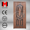 YIJIA hot sale wood color secure steel door, YJRH70